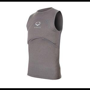 Evoshield Youth Gel-To-Shell Sleeveless Chest Guard Shirt